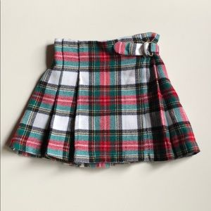 Carter's   Plaid Pleated Mini Skirt   4T